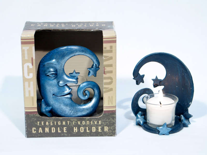 Candle Holder-moon