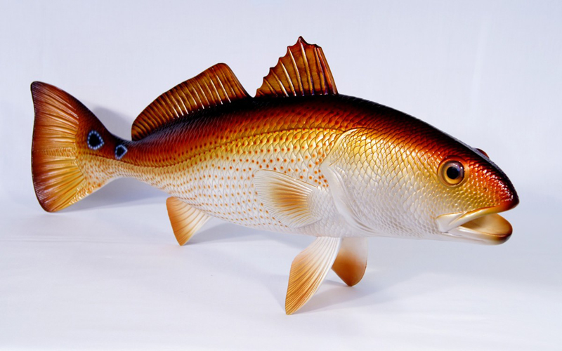Fish Statue-red Fish,Game Fish